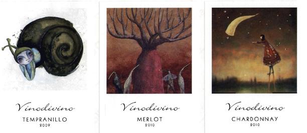 Etiquetas para vinos de Gráficas Varias S.A