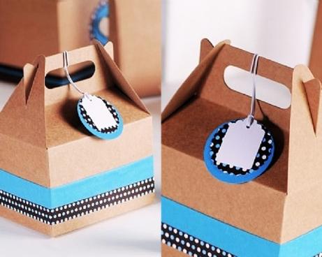 Cajas de Selfpackaging para cupcakes