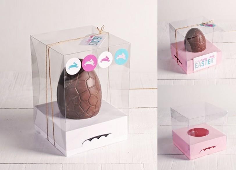 Pascua Huevos Cajas Selfpackaging Packateca